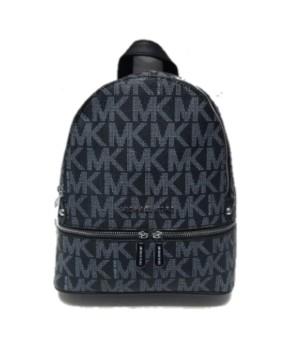 Рюкзак Michael Kors Rhea c надписями логотипа бренда черный