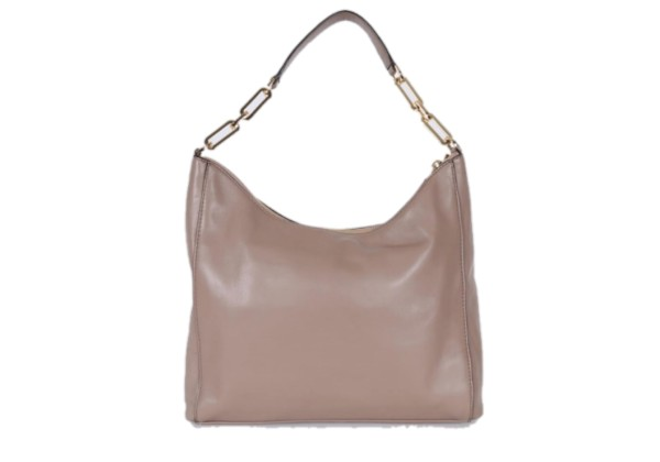 Сумка Michael Kors Matilda Leather Chain Hobo Bag Dunе бежевая