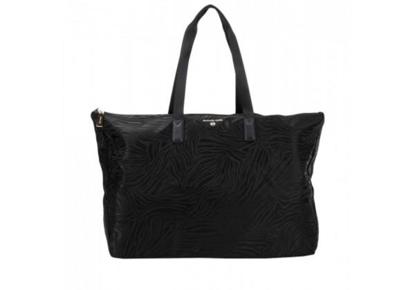 Дорожная сумка Michael Kors черная моно