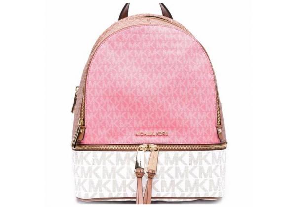 Рюкзак Michael Kors Rhea розовый с белым
