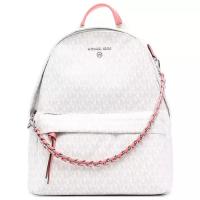 Рюкзак Michael Kors Rhea белый с цепочкой