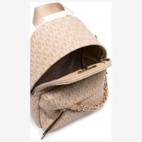 Рюкзак Michael Kors Slater с цепочкой бежевые