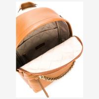 Рюкзак Michael Kors Slater бежевый с цепочкой