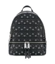 Рюкзак Michael Kors Rhea стеганый с отделкой черный