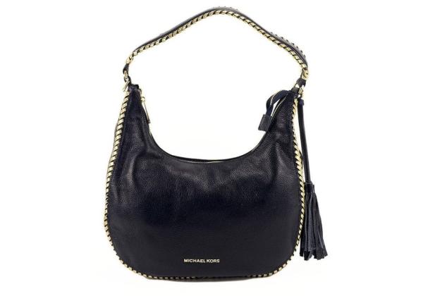 Сумка Michael Kors Lauryn Shoulder Bag синяя