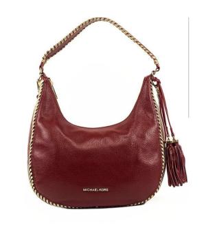 Сумка Michael Kors Lauryn Shoulder Bag красная