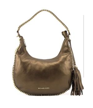 Сумка Michael Kors Lauryn Shoulder Bag золотая