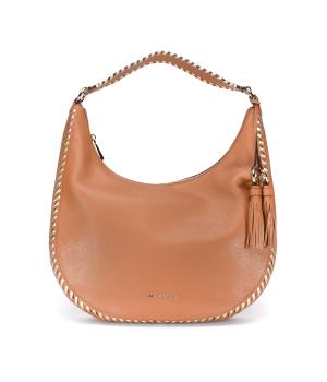 Сумка Michael Kors Lauryn Shoulder Bag коричневая
