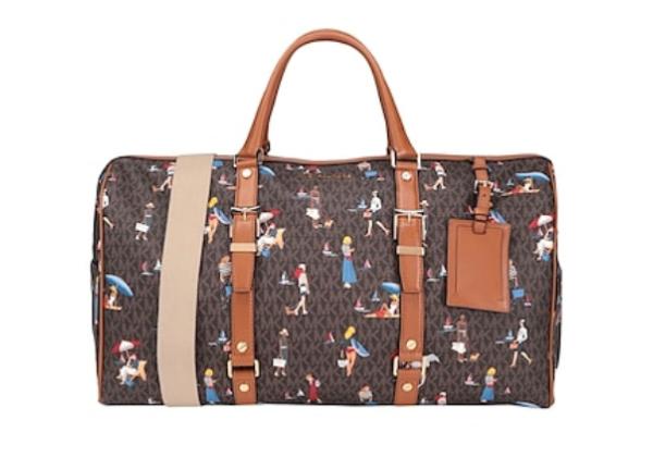 Дорожная сумка Michael Kors коричневая