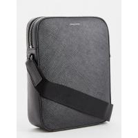 Мужская кожаная сумка Michael Kors черная