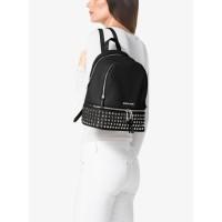 Рюкзак Michael Kors Rhea женский заклепками и замком черный