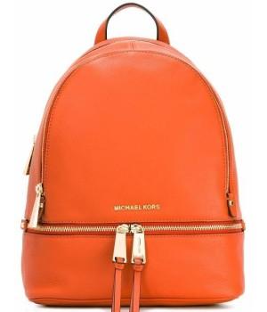 Рюкзак Michael Kors Rhea моно оранжевый