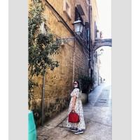 Сумка Michael Kors Selma Large женская вишневая