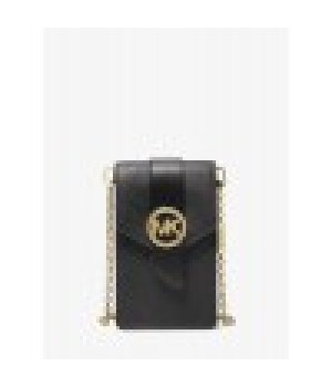 Michael Kors Small Saffiano Leather Smartphone Crossbody Bag