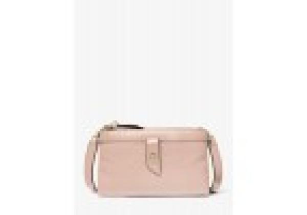 Сумка Michael Kors Medium Pebbled Leather розовая