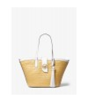 Michael Kors Malibu Large Straw Tote Bag