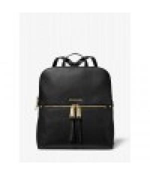 Michael Kors Rhea Medium Pebbled Slim Backpack