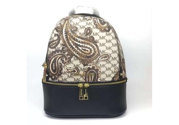 Рюкзак Michael Kors Rhea Paisley женский коричневый