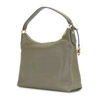 Сумка Michael Kors Aria Leather Shoulder Bag зеленая