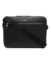 Сумка для ноутбука Michael Kors с логотипом черная