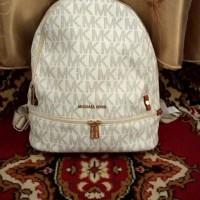 Рюкзак Michael Kors Rhea с инициалами логотипа бежевый