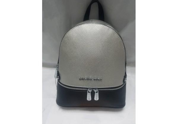 Рюкзак Michael Kors Rhea перламутр бронзовый с черным