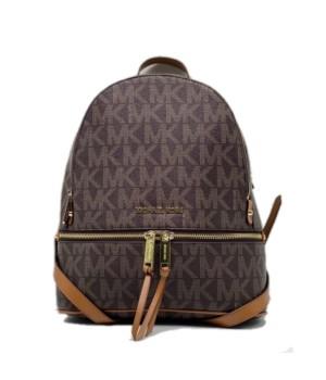 Рюкзак Michael Kors Rhea коричневый с золотым