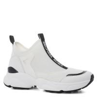 Женские кроссовки-носки MICHAEL KORS WILLOW SLIP ON белые