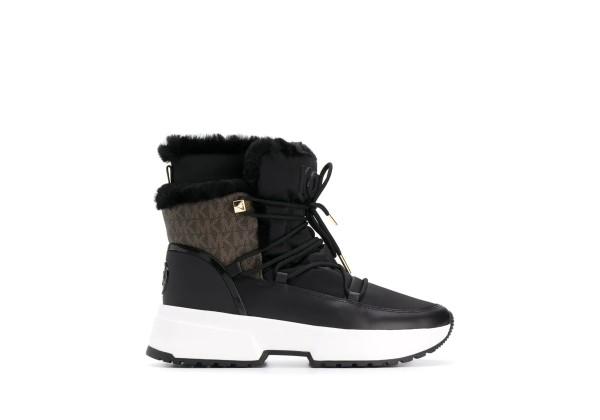 Ботинки Michael Kors на шнуровке черные