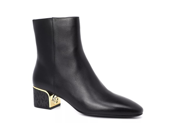 Женские ботинки MICHAEL KORS LANA MID высокие черные