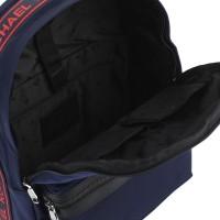 Рюкзак мужской Michael Kors с красным логотипом синий