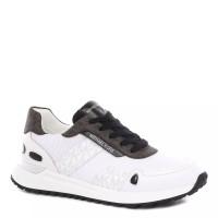 Женские кроссовки MICHAEL KORS BODIE TRAINER бело-коричневые