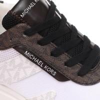 Женские кроссовки MICHAEL KORS MONROE TRAINER белые
