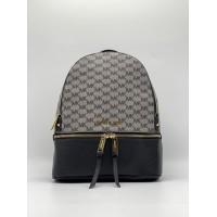Рюкзак Michael Kors Rhea серо-черный с золотым