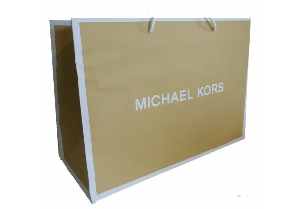Пакет Michael Kors 10 X 8 светло-бежевый