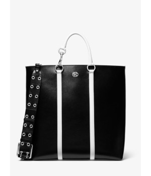 Michael Kors Cindi Large Calf Leather Tote Bag
