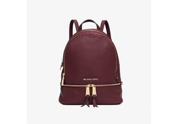 Рюкзак Michael Kors Rhea Zip Medium вишневый