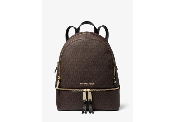 Michael Kors Rhea Medium Logo Backpack