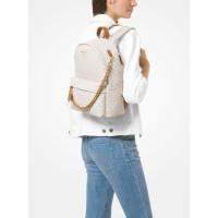 Рюкзак Michael Kors Slater Medium с логотипом белый