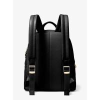Рюкзак Michael Kors Slater Pebbled с цепочкой черный