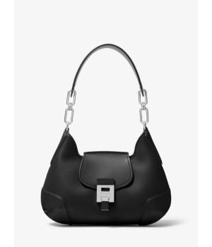 Michael Kors Bancroft Medium Calf Leather Shoulder Bag