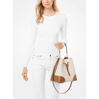Michael Kors Mercer Gallery Medium Logo Shoulder Bag