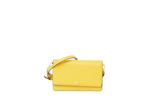 Michael Kors Small Leather Phone Crossbody Bag