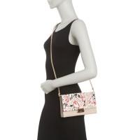 Michael Kors Large Leather Clutch Crossbody Bag