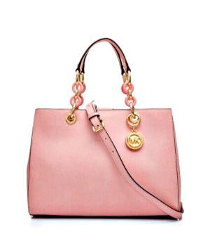 Розовая Сумка Майкл Корс Синтия 30S3TCYS2L Pale Pink