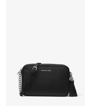 Michael Kors Ginny Leather Crossbody Bag