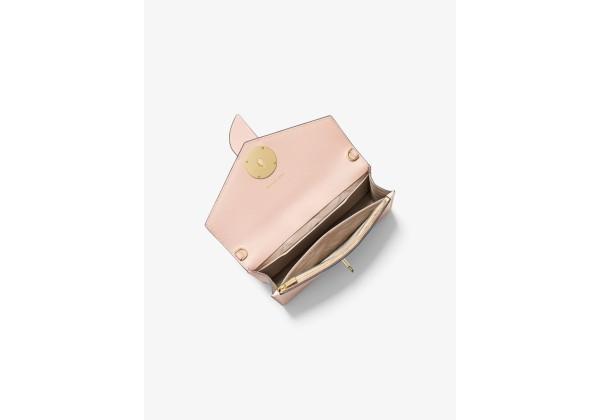 Сумка Michael Kors Medium Leather Convertible светло-розовая