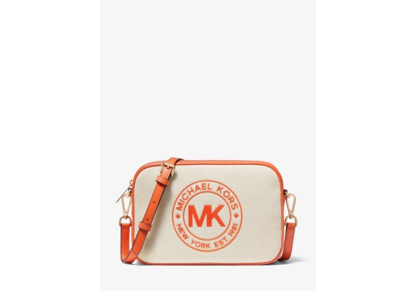 Michael Kors Fulton Sport Large Canvas Crossbody Bag