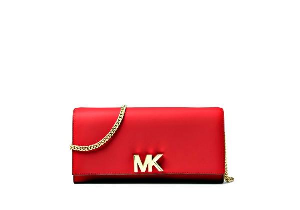 Сумка — Клатч Michael Kors Красная Mott 30S8GOXC7L Red