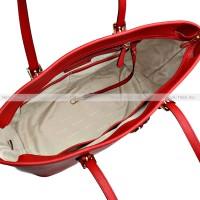 Сумка Красная Майкл Корс Jet Set Travel 30S4GTVT2L Red